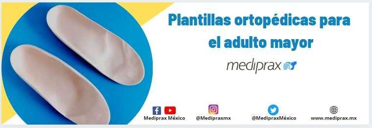 Plantillas ortopédicas para el adulto mayor