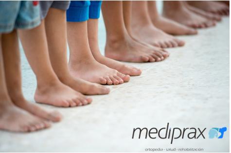 Importancia de prevenir alteraciones del pie en preescolares