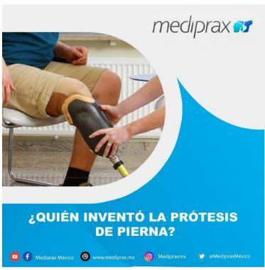 ¿Quién invento la prótesis de pierna?