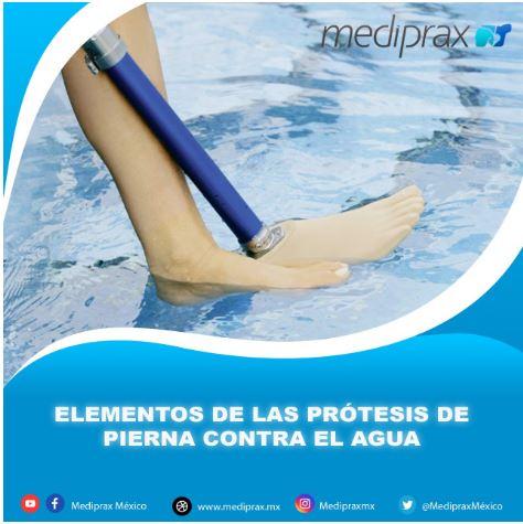 prótesis para agua