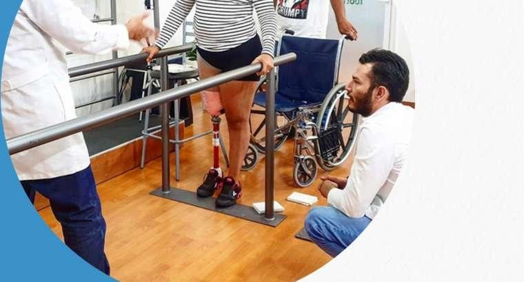 ¿Cómo funciona una prótesis de pierna? Prótesis de miembro inferior.