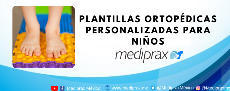 Plantillas ortopédicas personalizadas para niños