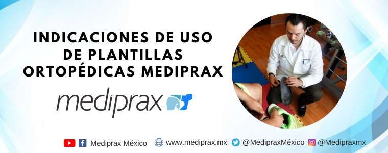 Indicaciones de uso de plantillas ortopédicas Mediprax