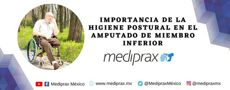 Importancia de la higiene postural en el amputado de miembro inferior